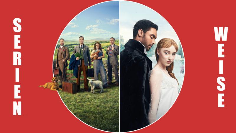Der Doktor und das liebe Vieh (c) Sky / Bridgerton (c) Netflix