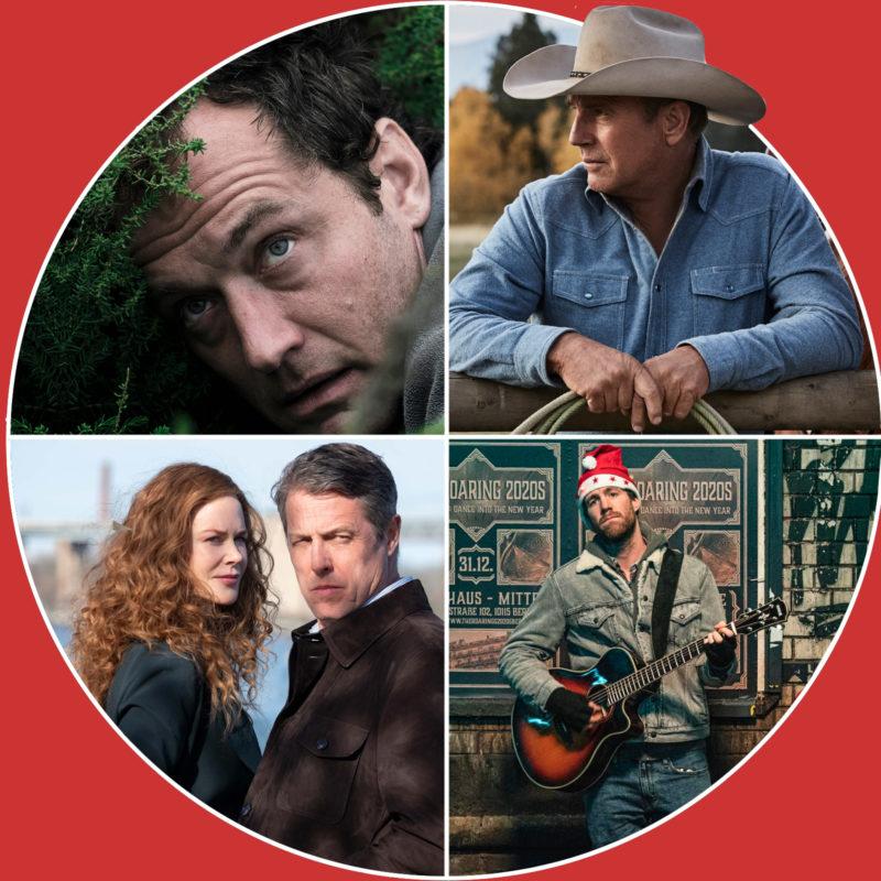 The Third Day und The Undoing (c) Sky Deutschland / ÜberWeihnacht (c) Netflix / Yellowstone (c) AXN
