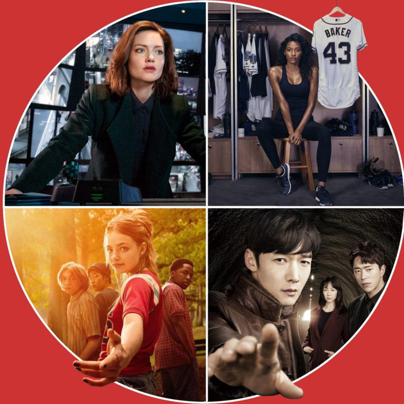 The Capture (c) Starzplay / Eine wie Alaska (c) John / Tunnel (c) Netflix / Pitch (c) 20th Century Fox