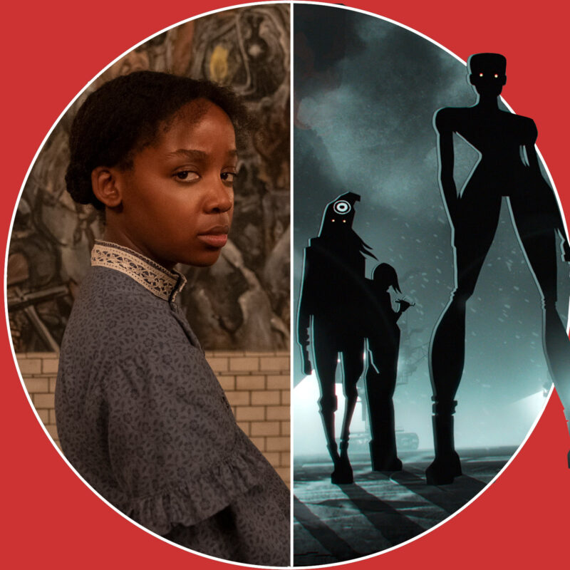 """The Underground Railroad"" (c) Amazon / ""Love, Death and Robots"" (c) Netflix"